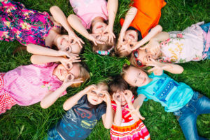 Family Care in New Jersey group of children