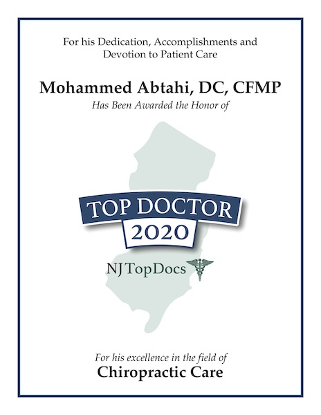 Mohammed Abtahi 2020 Dr. Moe Abtahi is a gentle and experienced chiropractor.